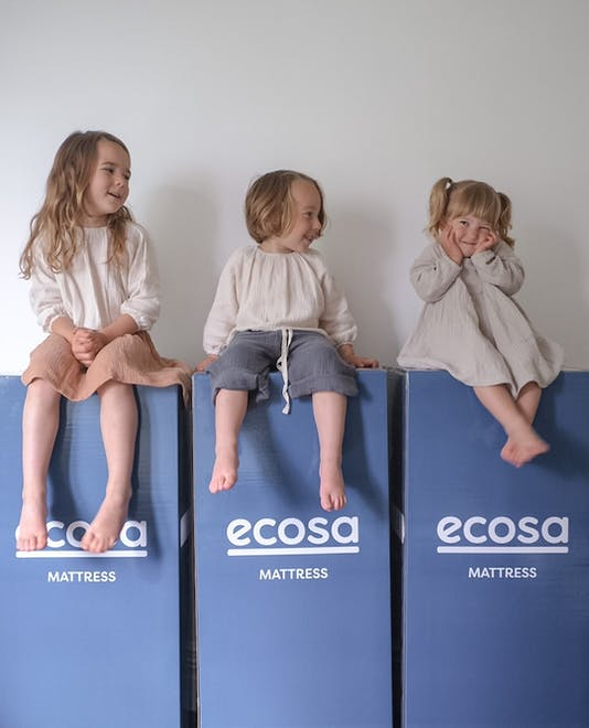Ecosa Mattress with Jas